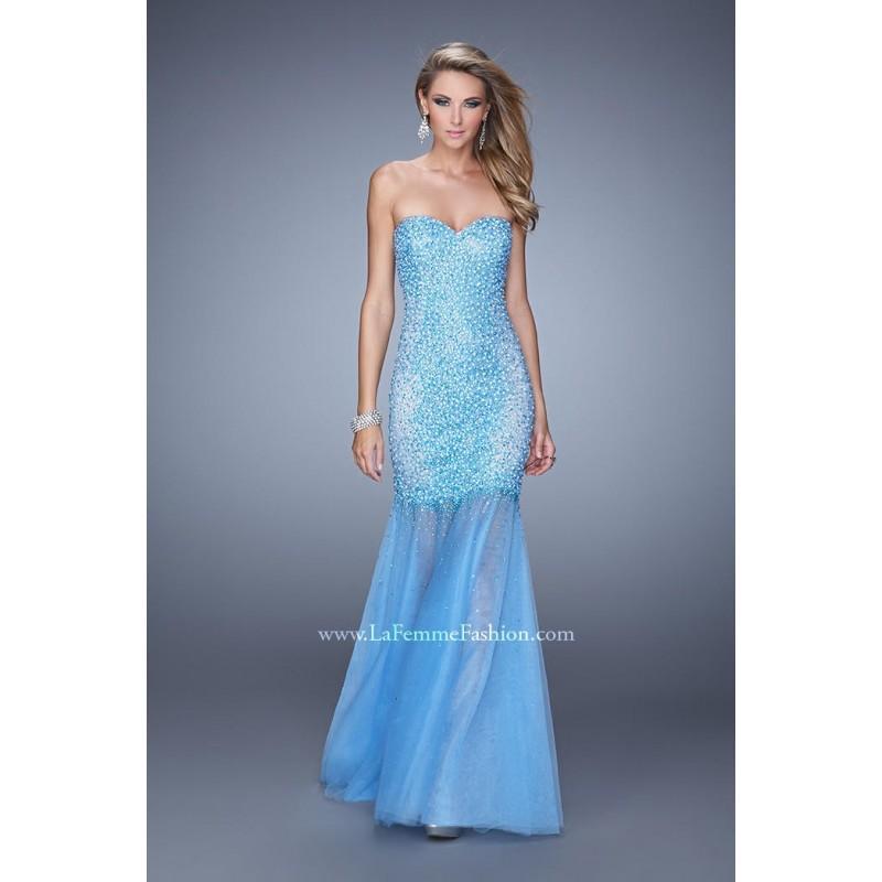 Wedding - Sky Blue Le Femme Gigi Prom Gowns Long Island GiGi by La Femme 21324 GiGi Designs by La Femme - Top Design Dress Online Shop