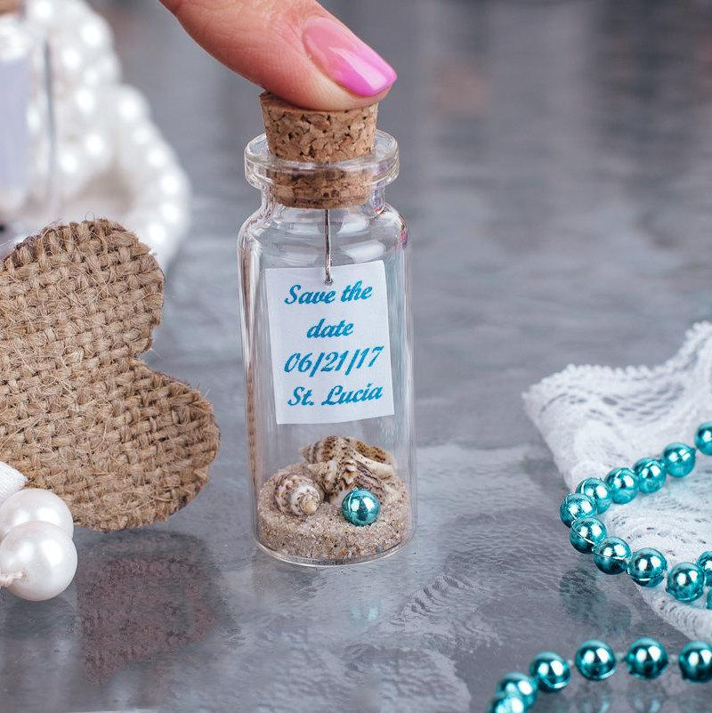 Gifts For Guests Beach Wedding: Beach Wedding Favors, Blue Wedding Favors, Nautical