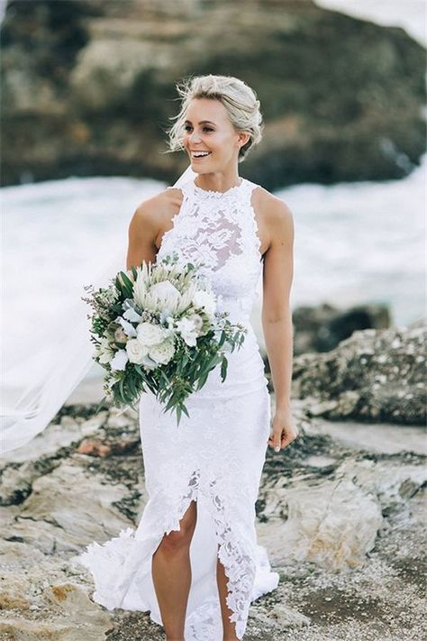 2c0c6ec053e5 Top 22 Beach Wedding Dresses Ideas To Stand You Out #2752565 - Weddbook