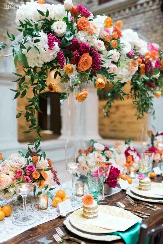 Wedding - Floral Centerpieces