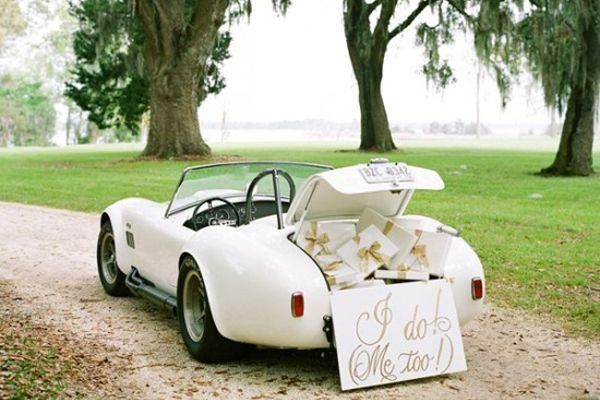 Mariage - 17 Vintage Wedding Getaway Cars