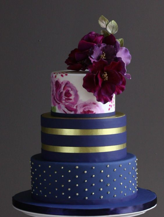 Wedding - Wedding Cake Inspiration - I Do! Wedding Cakes
