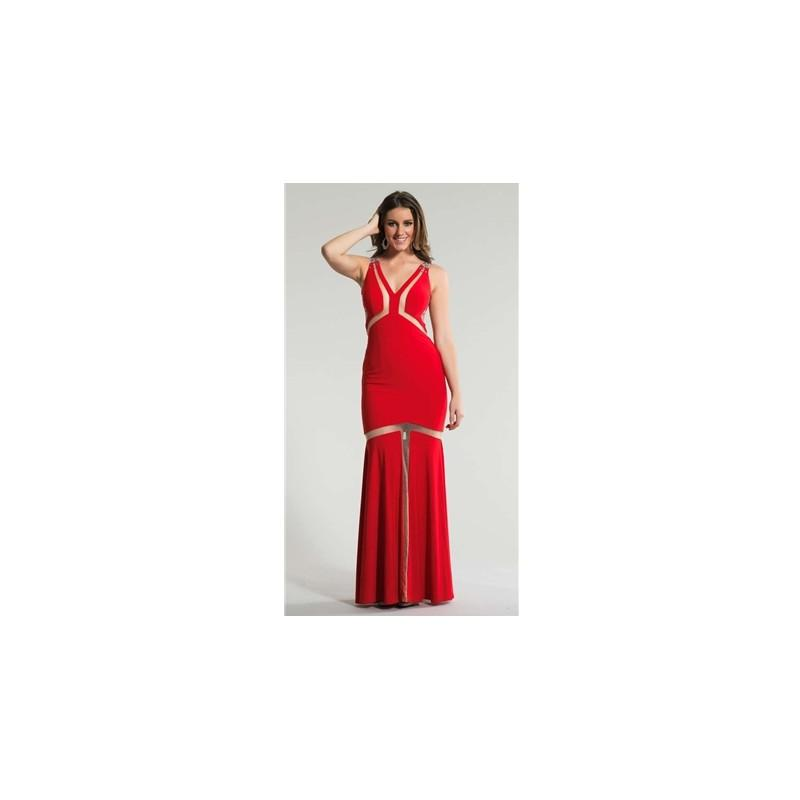 Hochzeit - Dave and Johnny Prom Dress Style No. 866 - Brand Wedding Dresses