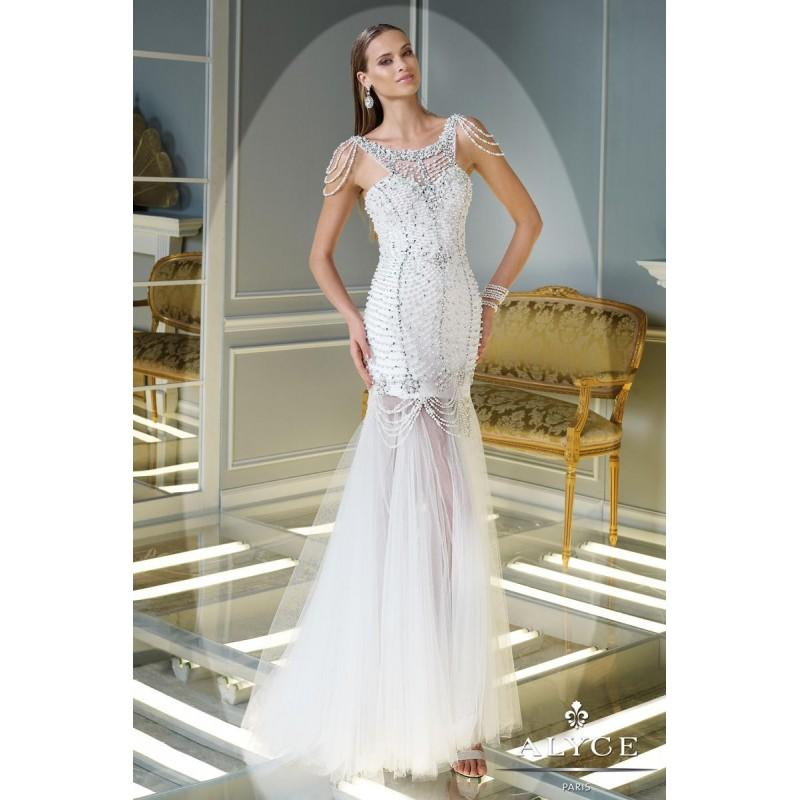 Hochzeit - Claudine for Alyce Prom 2343 - Branded Bridal Gowns