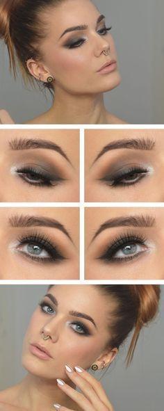 Wedding - Grey Smokey Eye