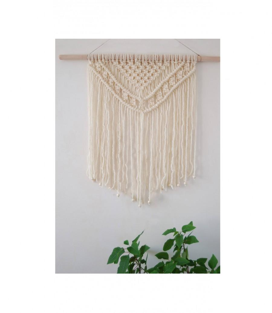 Mariage - Macrame Wall Hanging, Woven Wall Hanging, Macrame Wall Decor, Wall Hanging Tapestry, Boho Wall Hanging, Textile Wall Decor, Boho Macrame