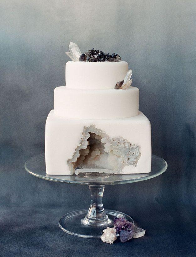 Wedding - 25 Incredibly Beautiful Wedding Cakes That Won 2015