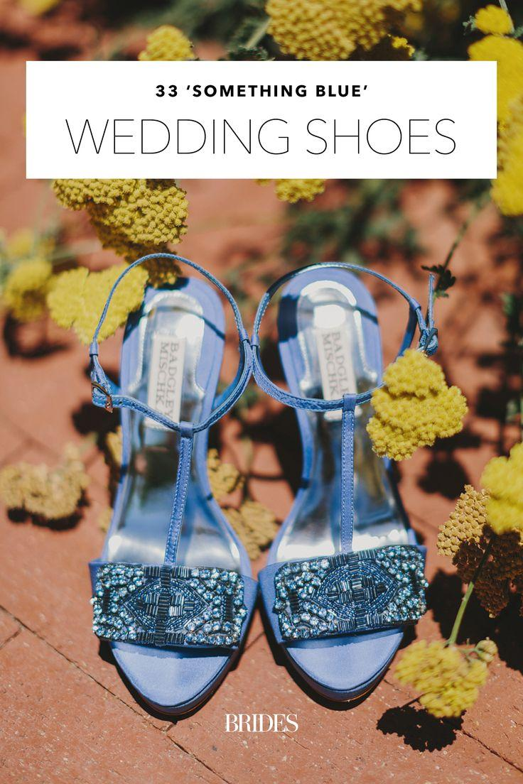 Hochzeit - 33 Blue-Hued Wedding Shoes