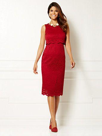 Wedding - New York & Co. - Eva Mendes Collection - Siena Lace Dress