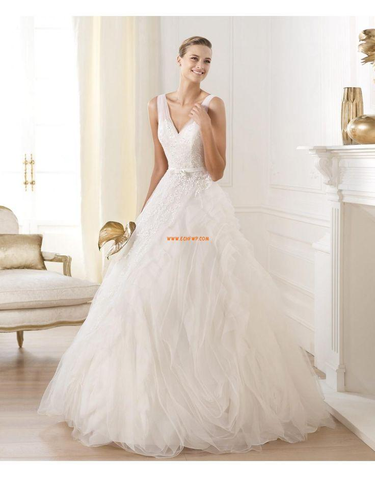 Свадьба - Hal Prinses V-hals Bruidsmode 2014