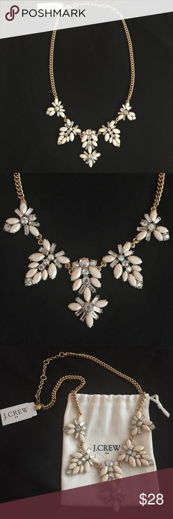 Mariage - J Crew Light Pink Necklace NWT