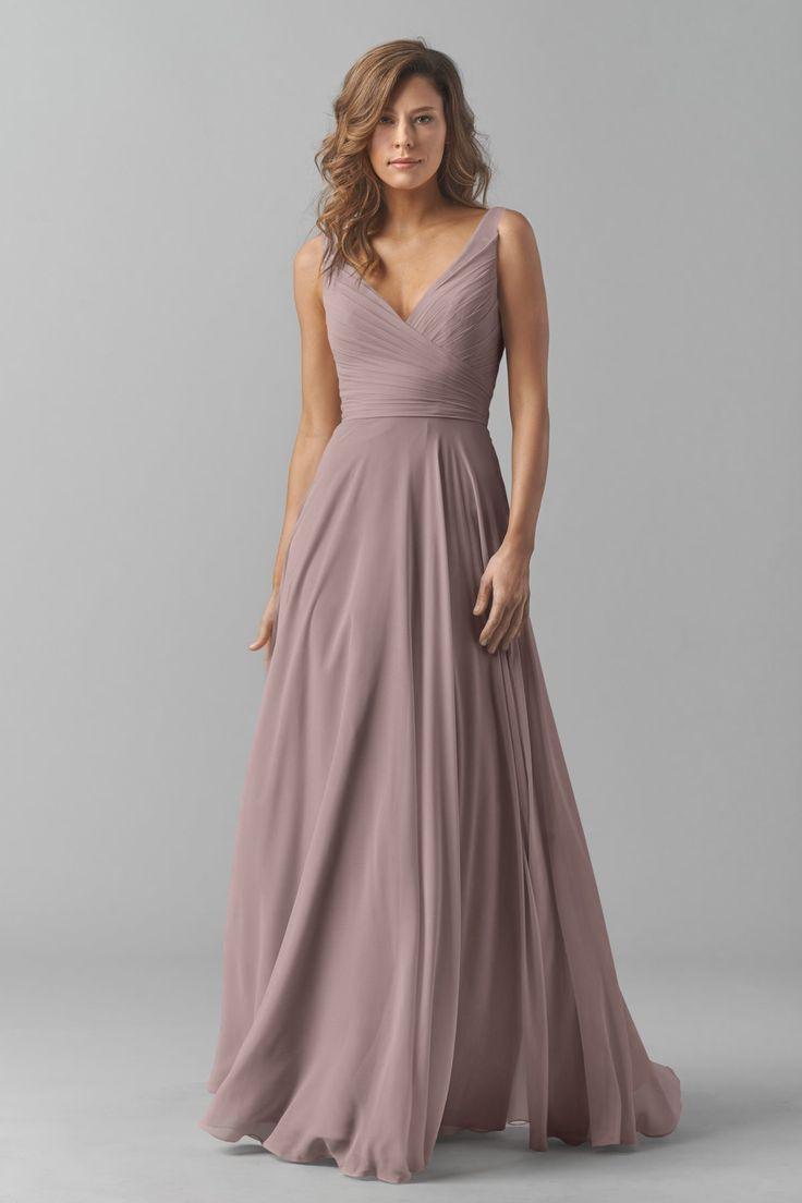 Wedding - Mauve Dress