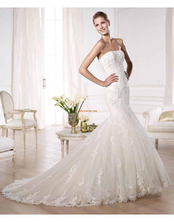 Wedding - Strapless Chic & Modern Rits Bruidsmode 2014