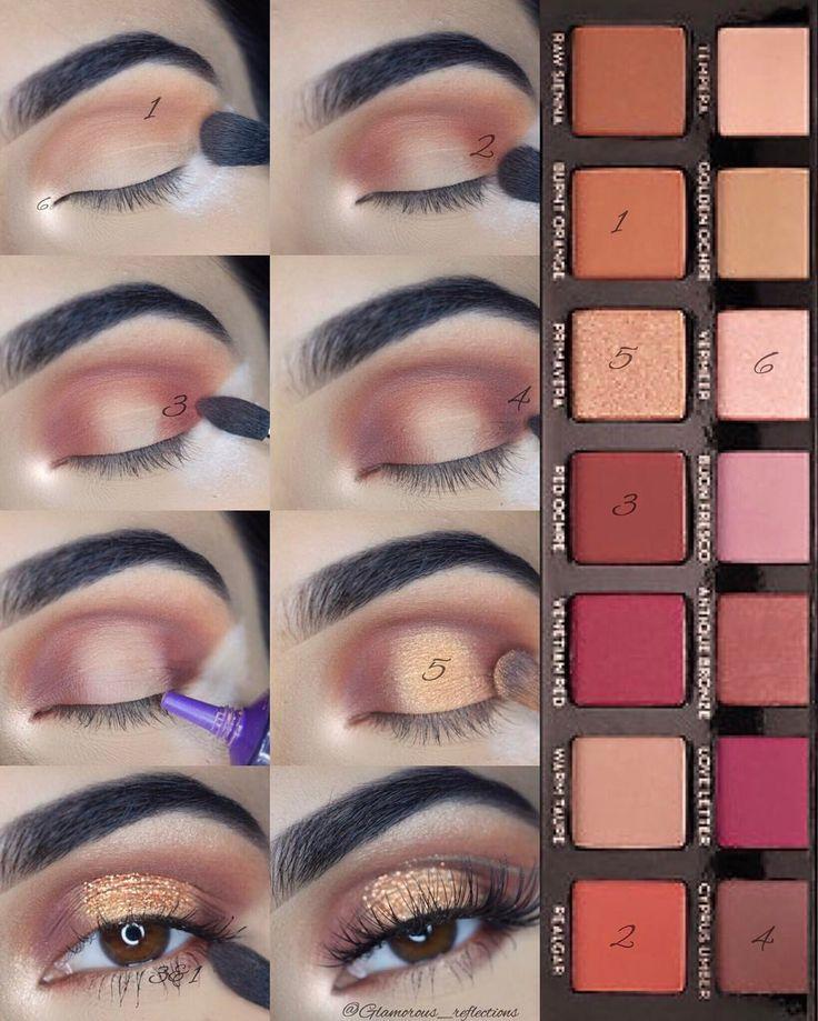 Wedding - Makeup Tutorial - Gold Eyes