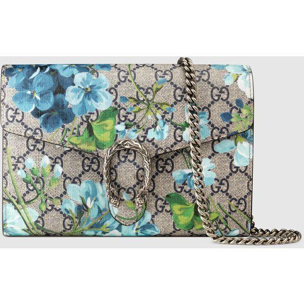 Wedding - Gucci Dionysus Blooms Print Mini Chain Bag