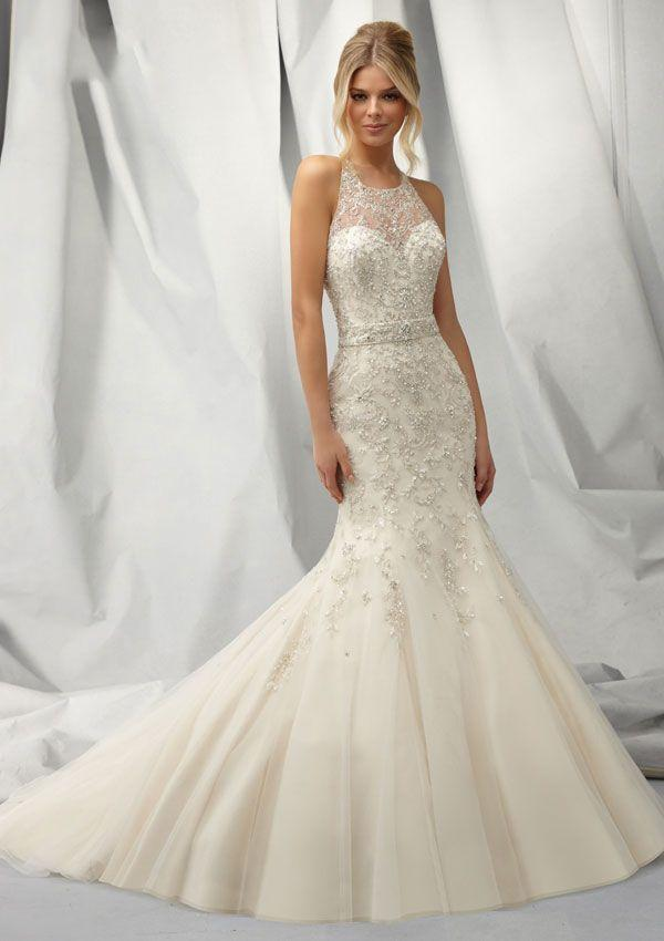Look Beautiful With Halter Top Wedding Dresses - Fashion Trends ...