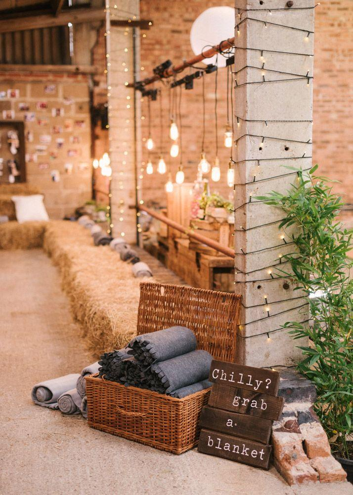 Wedding - DIY Rustic Wedding At Grove Barn With Charlie Brear Bridal Outfit