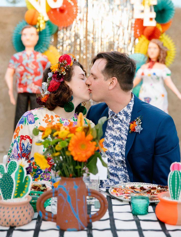 Boda - Colorful   DIY Fiesta-Inspired Desert Wedding Celebration — Part 2