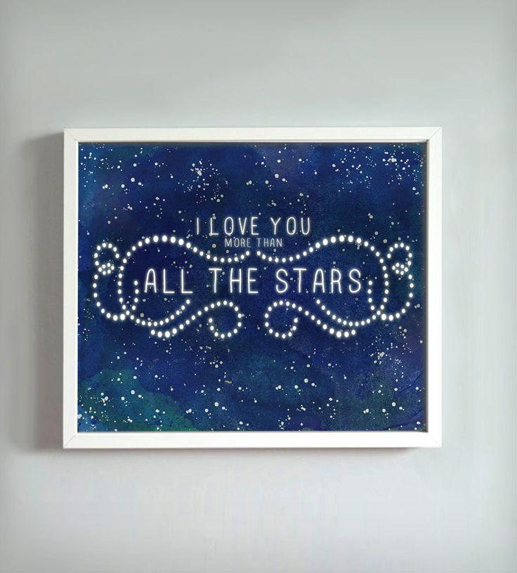Wedding - All The Stars Print