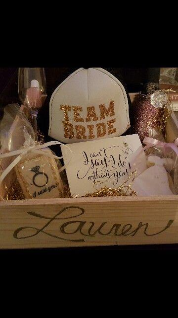 Wedding - Bridesmaid Gift Box