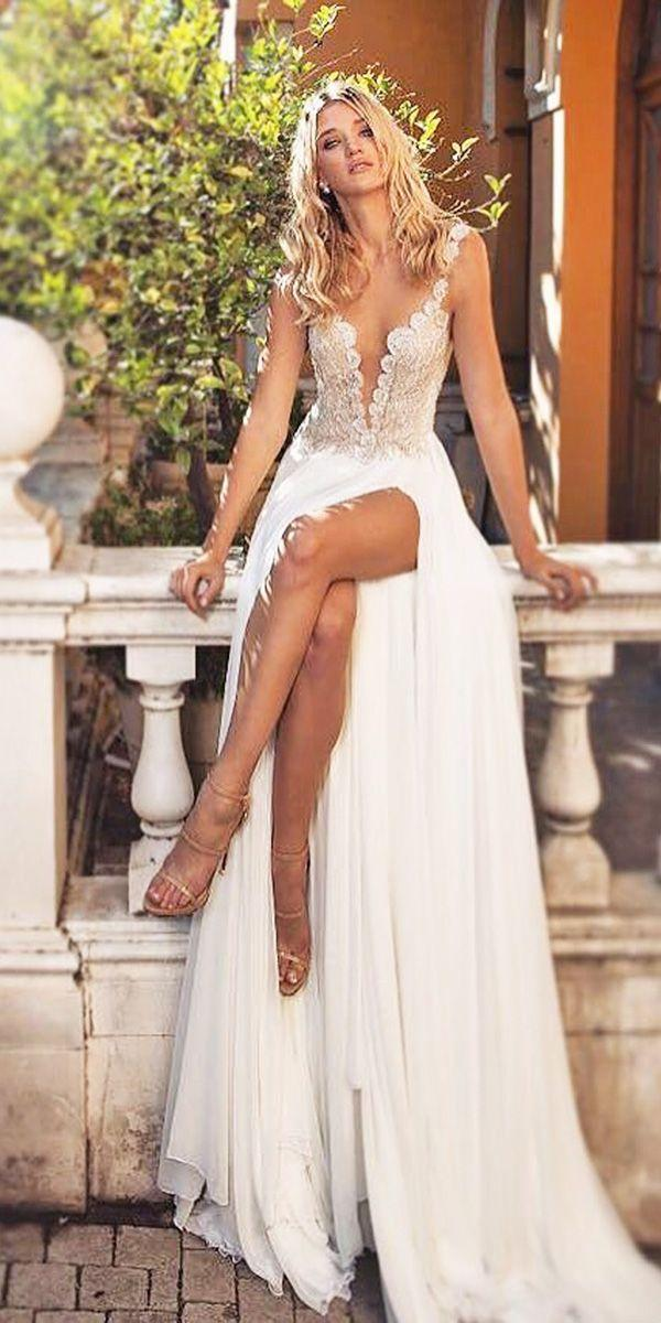 c98803d6d52 30 Beach Wedding Dresses Perfect For Destination Weddings  2755000 ...