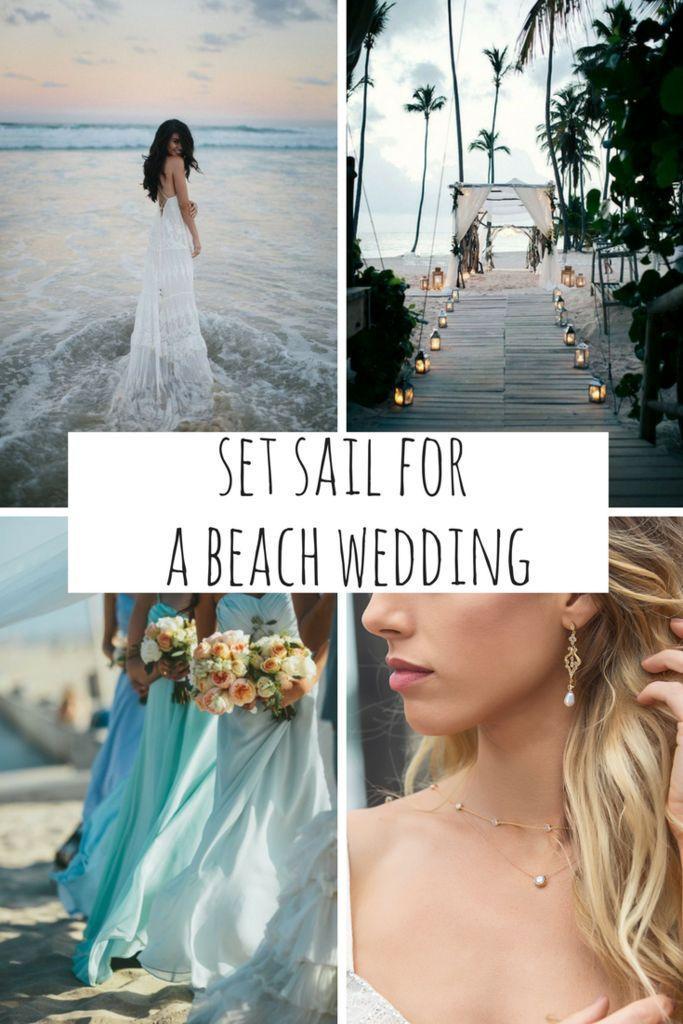 Свадьба - Set Sail For A Beach Wedding
