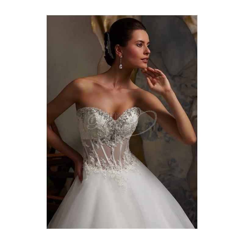 Свадьба - Mori Lee Blu Collection Spring 2013 - Style 5107 - Elegant Wedding Dresses
