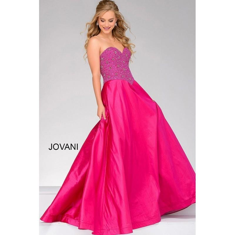 Свадьба - Jovani 38678 Prom Dress - Strapless, Sweetheart Jovani Long Prom Ball Gown Dress - 2017 New Wedding Dresses
