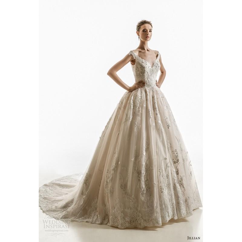 Свадьба - Jillian 2018 Luminosa Ball Gown Sweetheart Chapel Train Sweet Dress For Bride Ball Gown Sweetheart Chapel Train Dress For Bride - Bonny Evening Dresses Online