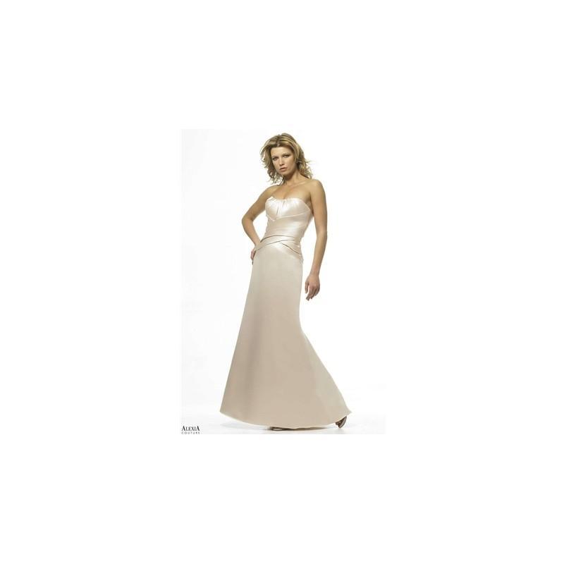 Свадьба - Alexia Designs Couture Bridesmaid Dress Style No. 848 - Brand Wedding Dresses