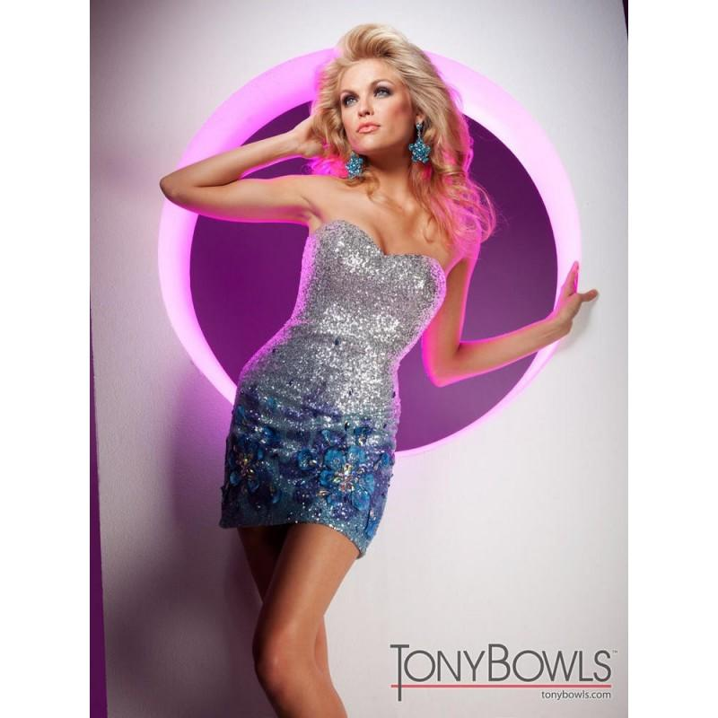 Wedding - TS11376 Tony Bowls Short - HyperDress.com