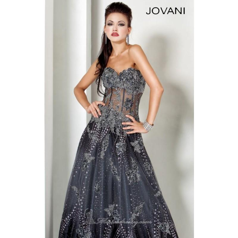 Свадьба - Classical Cheap Embroidered Dress by Jovani Evening 3677 Dress New Arrival - Bonny Evening Dresses Online