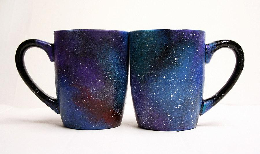 Wedding - Galaxy Mugs - Celestial - Galactic - Cosmos - Cosmic - Starry - Outer Space