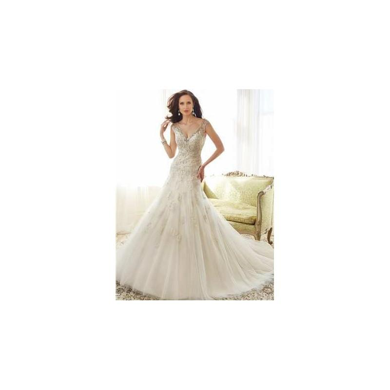 Düğün - Sophia Tolli Bridals Wedding Dress Style No. Y11555 - Brand Wedding Dresses