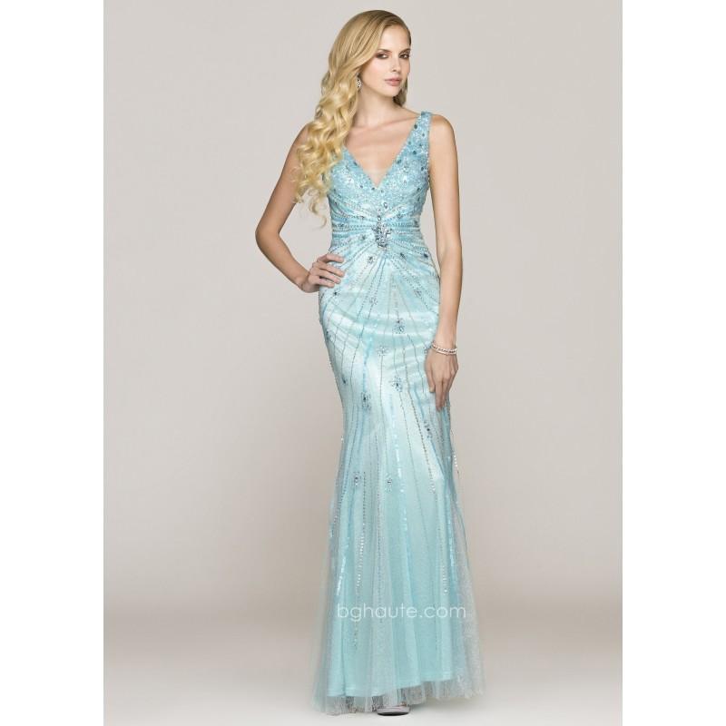 Wedding - BG Haute G3117 Sequin Flared Gown - 2017 Spring Trends Dresses