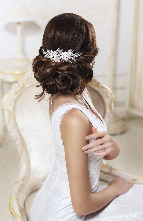 Wedding - Bridal Hair Comb Rhinestone Hair Comb Crystal Hair Comb Bridal Hair Piece Wedding Hair Comb Rhinestone Hair Piece Crystal Hair Piece