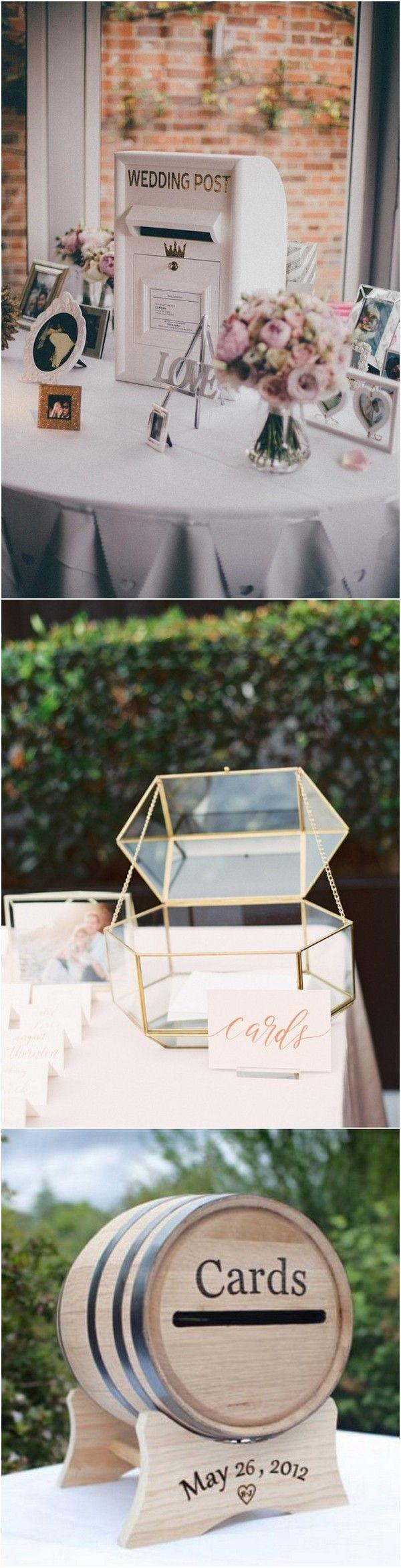 Свадьба - 15 Creative Wedding Card Box Ideas To Impress Your Guests - Page 2 Of 3