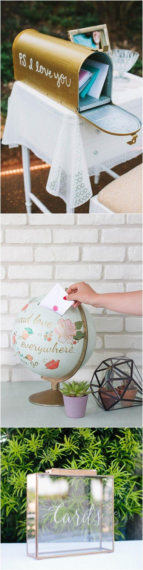 Wedding - 15 Creative Wedding Card Box Ideas To Impress Your Guests