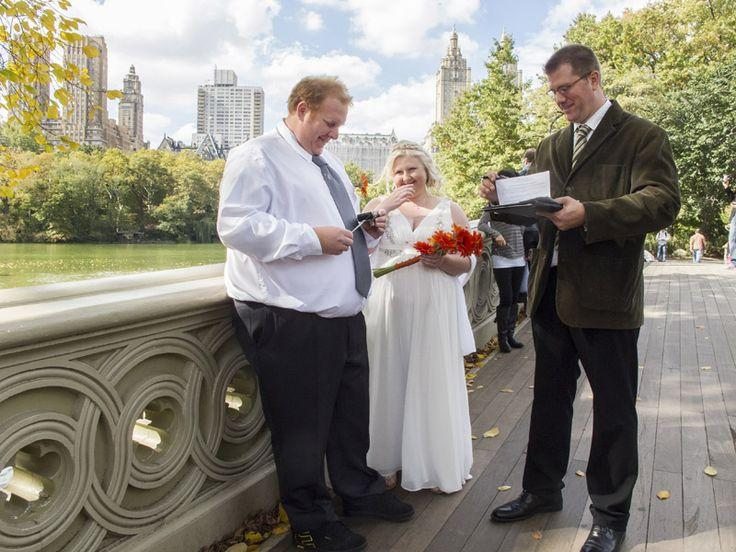 Свадьба - Carly And Sean's Autumn Central Park Wedding