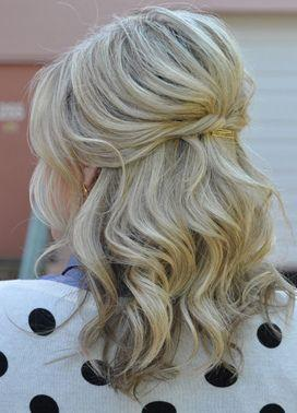 Wedding - 25 Gorgeous Half-Up, Half-Down Hairstyles