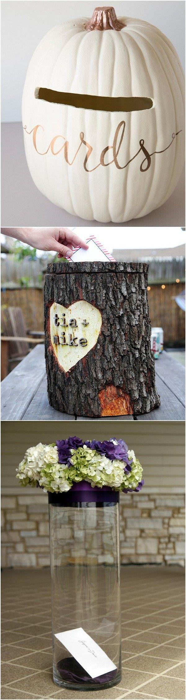 Свадьба - 15 Creative Wedding Card Box Ideas To Impress Your Guests - Page 3 Of 3