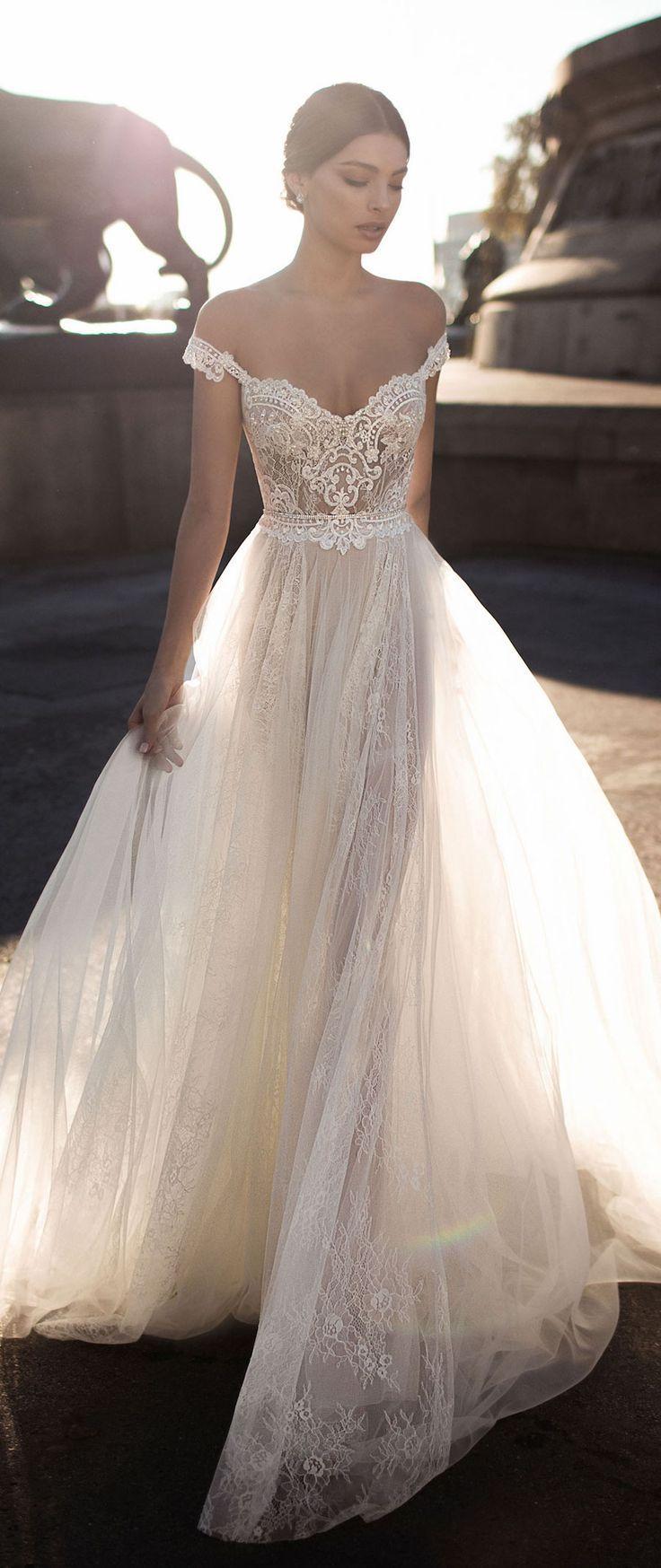 81eac0eab8d Gali Karten Wedding Dresses 2017 - Barcelona Bridal Collection ...