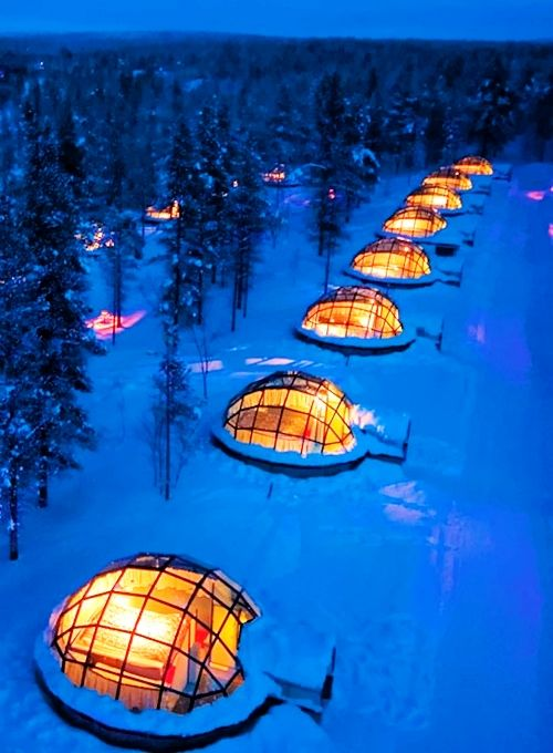 Wedding - Honeymoon Destinations - Lapland, Finland