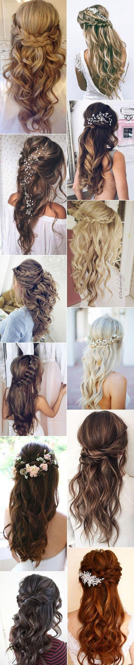 Wedding - 20 Amazing Half Up Half Down Wedding Hairstyle Ideas