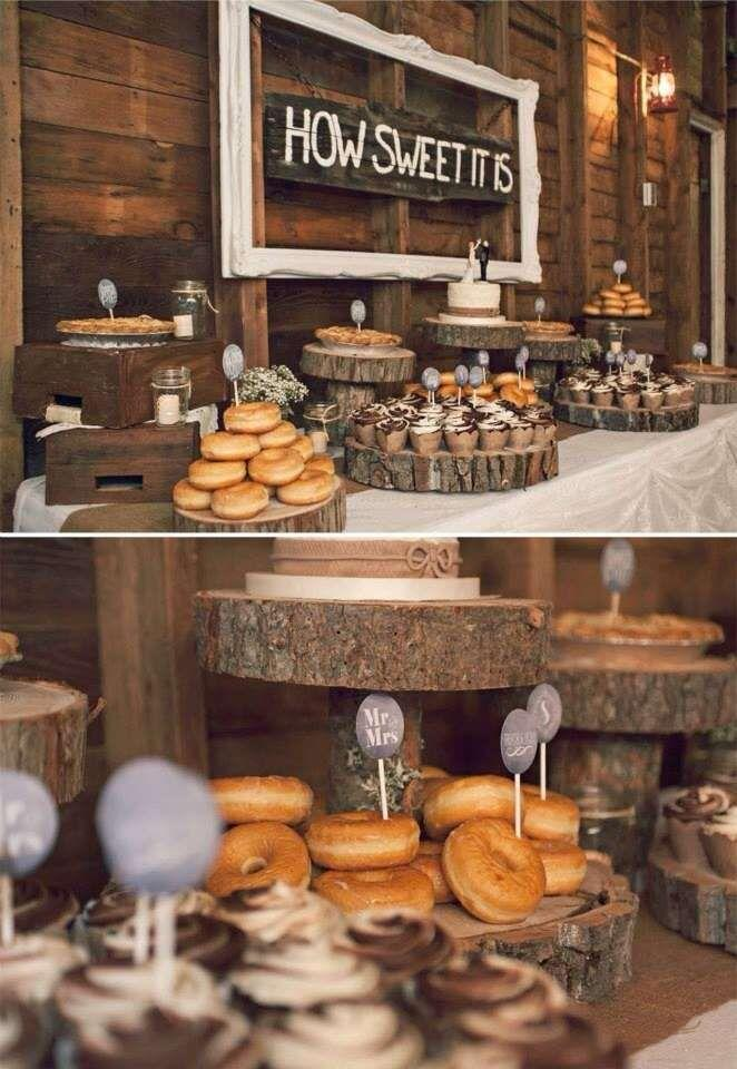 Boda - Rustic Wedding Party Ideas