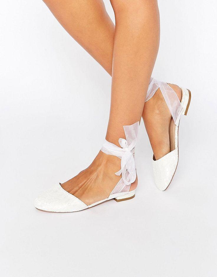 Hochzeit - ASOS LAUREL Ballet Flats At Asos.com
