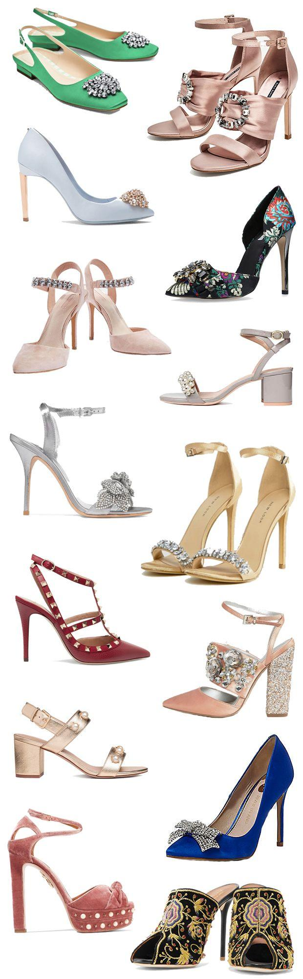 Wedding - Add A Little Sparkle - 14 Embellished Wedding Guest Shoes