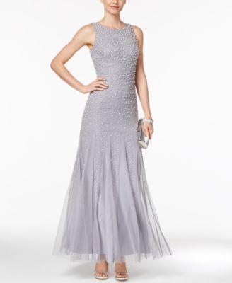 Hochzeit - Adrianna Papell Embellished Mermaid Gown
