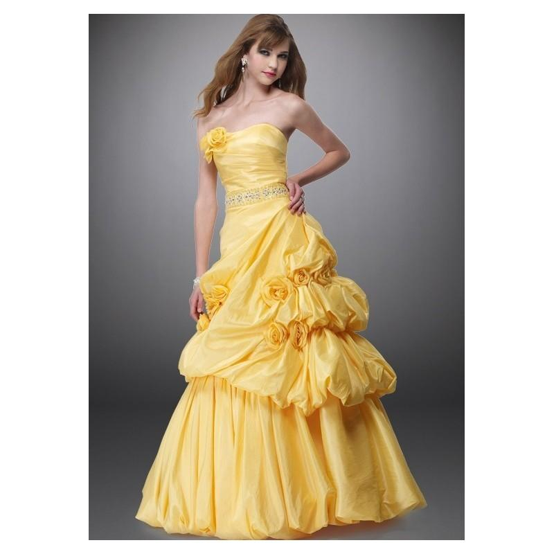 Black Label By Alyce 5342 Yellow Ball Gown SALE - 2017 Spring Trends ...