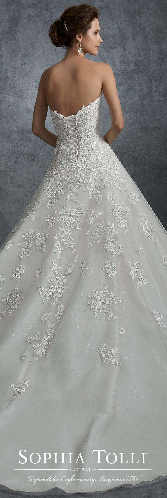 Wedding - Strapless Misty Tulle And Allover Shimmer Tulle - 21750